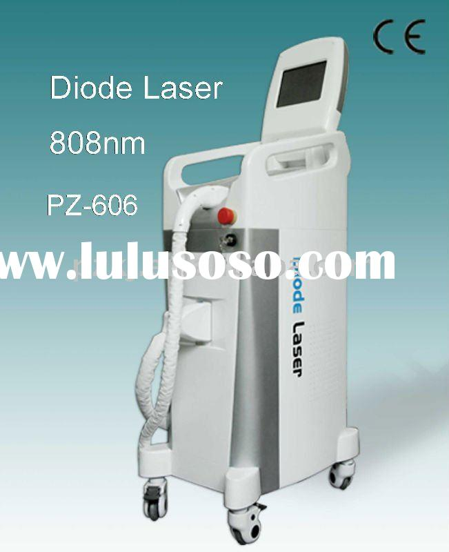 Diode laser hair removal equipment--Widely used for any color hair