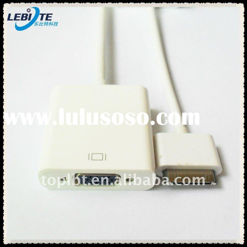 Dock 30pin Connector to VGA Adapter-Video adapter for Apple iPad