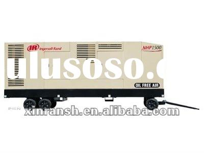 Doosan portable air compressor;oil free screw air compressor,NHP1500;ingersoll Rand mobile air compr