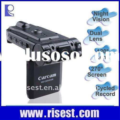 Dual Lens Emergency Vehicle Camera Recorder