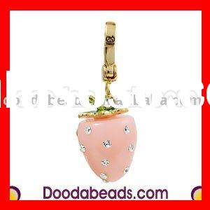ENAMEL CHARMS WHOLESALE (Strawberry)