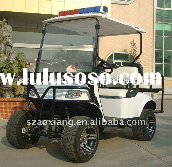 Electric 4X4 Cruiser Golf Cart on Sale, Off-road Golf Buggy with 5KW DC Motor, Curtis Controller and