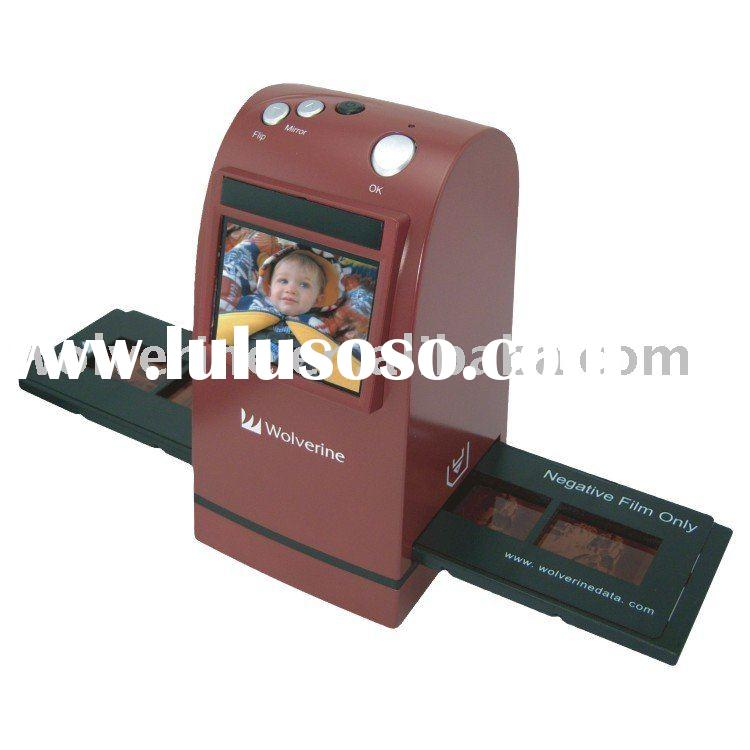 F2D-576-3 9-megapixel Professional 35mm Film/Slide Scanner with 2.4-inch LCD Display