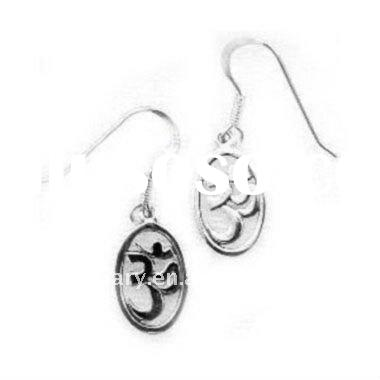 Fashion Ohm Stainless Steel Earring Jewelry