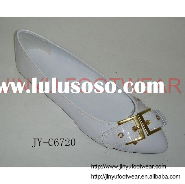 Fashion ladies' cream dress shoes