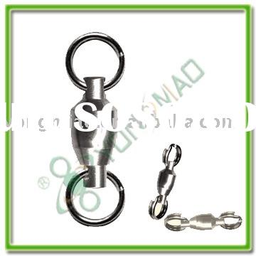 Fishing tackle accessories Ball bearing swivel with split ring