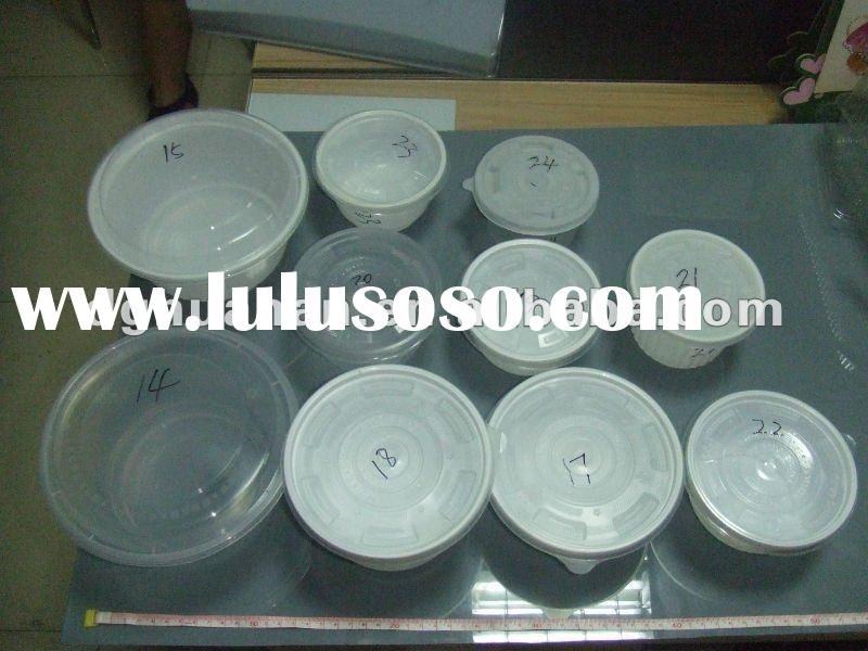 Food environment blister plastic tray