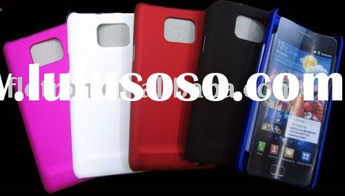 For Samsung Galaxy S2 i9100 Rubberized Hard Back Cover Case