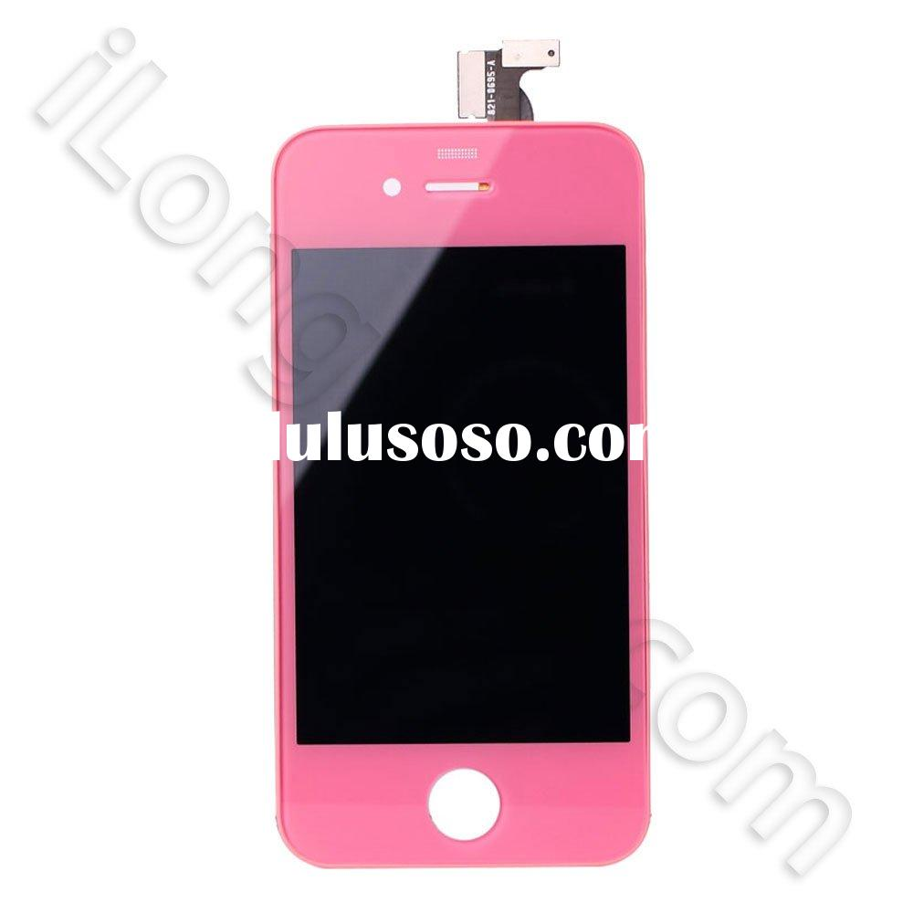 For iPhone 4 lcd with digitizer assembly -Pink