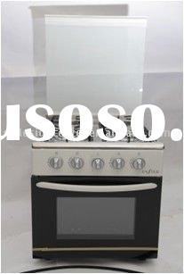 Four Gas Burner Free Standing Oven