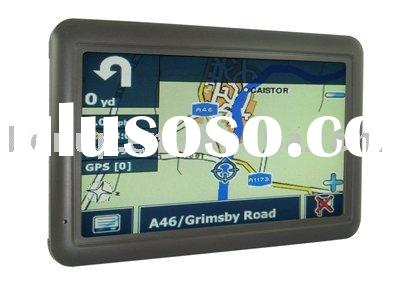 GPS/ GPS navigation / car GPS / GPS system + Wireless radar & rear-view camera, TMC is optional