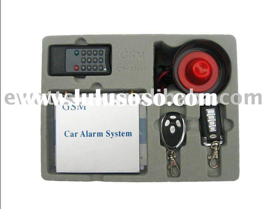 GPS GSM Car Alarm Device with Remote Starter