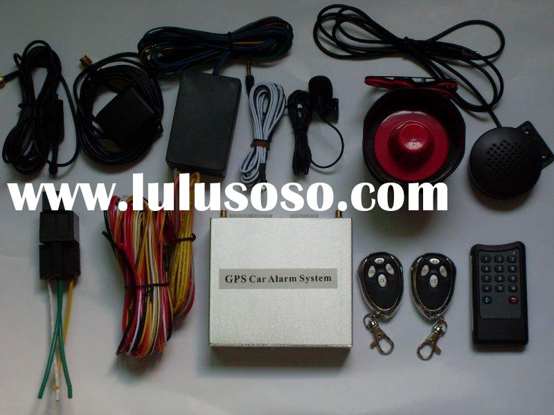 GPS GSM Car Alarm System can remote to start the car by phone