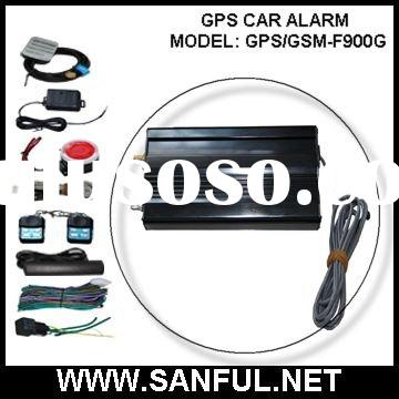 GPS Tracker GSM Car Alarm with CPS Software F-900G