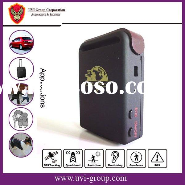 GPS tracker tracking by mobile phone and GPRS Web-server software with flash memory