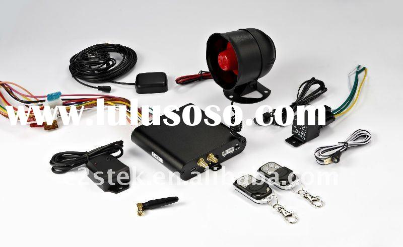 GSM/GPRS/GPS Car Alarm Tracker System(two way)