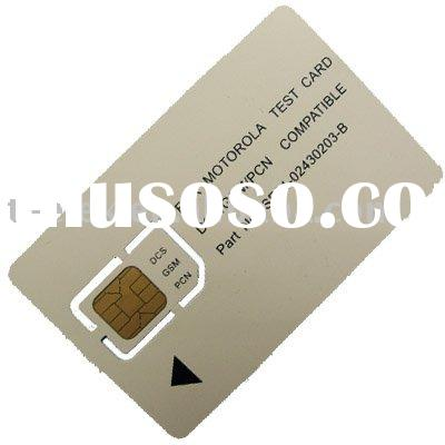 GSM Mobile Phone Test Card GSM Test SIM Card