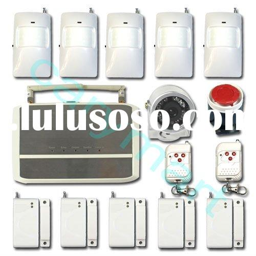 GSM home security wireless alarm system with camera