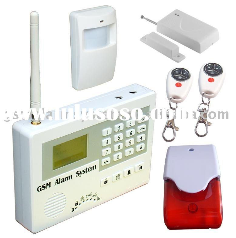 GSM security burglar alarm system for home ,S110