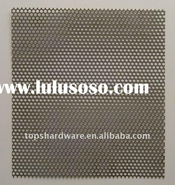 Galvanized Perforated Metal Mesh for Speaker