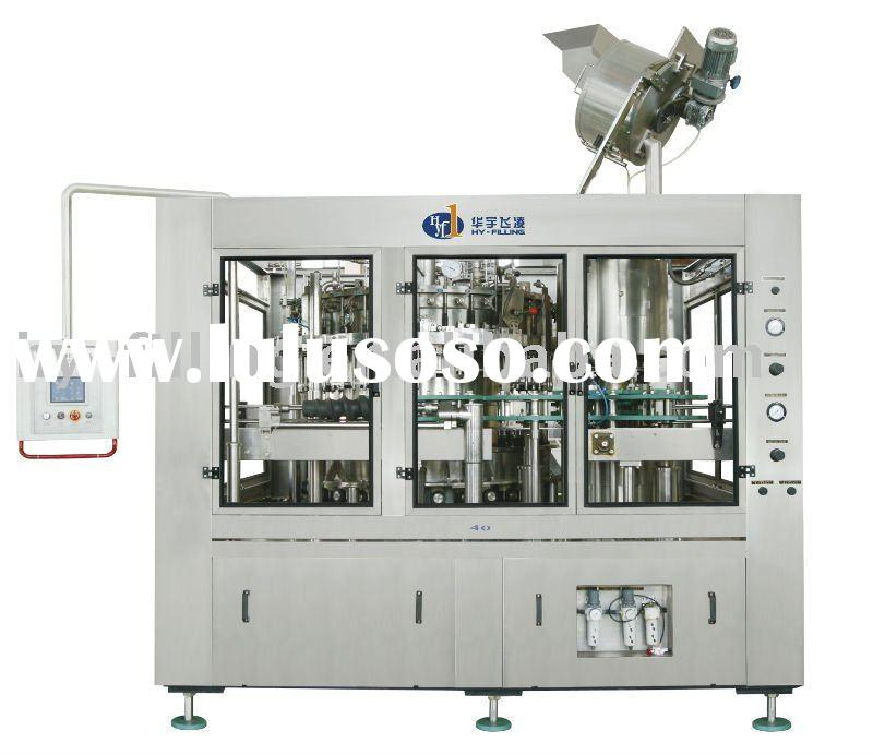 Glass Bottle Carbonated Soft Drink Filling-Sealing Integrated Machine