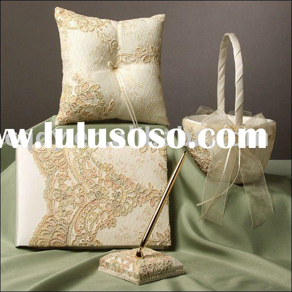 Grace Style Wedding Supplies/Lace Decoration Wedding gifts/2011 Wedding Decoration Set