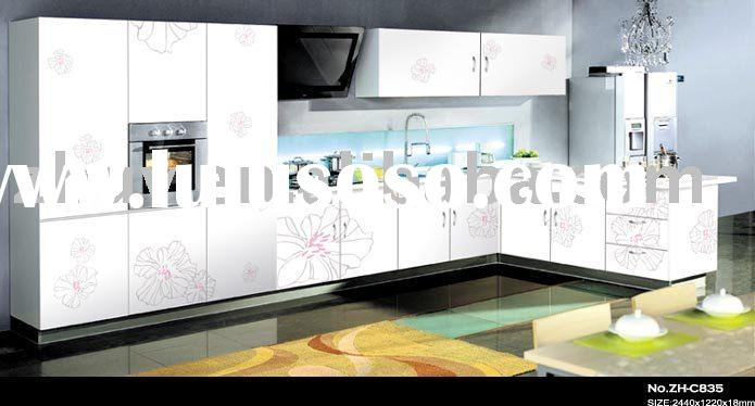 High Glossy Kitchen Cabinet Door with Designs (melamine MDF,Wardrobe Door,kitchen cabinet)