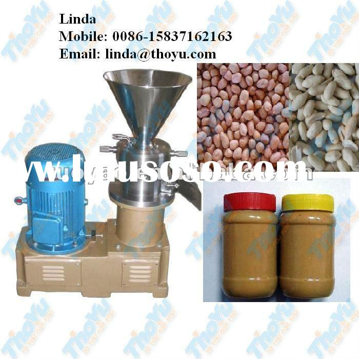 Hot selling peanut butter making machine with long life working 0086-15837162163