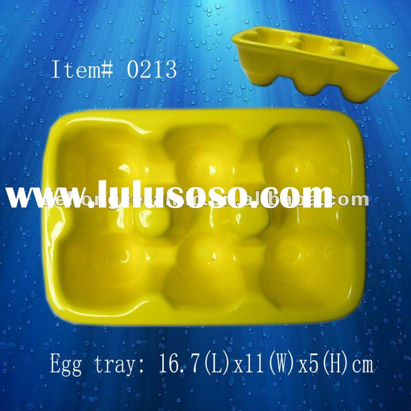 Hotsale ceramic egg tray