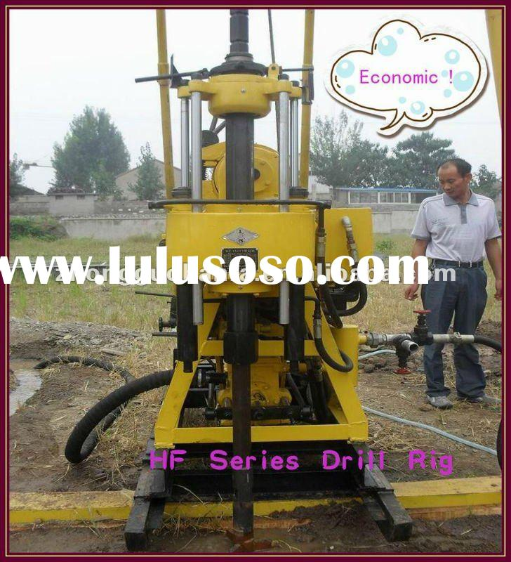 Hottest !!! Most capable small well drill rig,portable digging water well drilling machine,Model HF2
