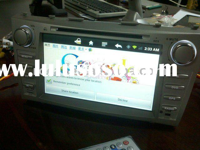 In dash 2 din car dvd android with car pc wifi bluetooth 3g ipod gps