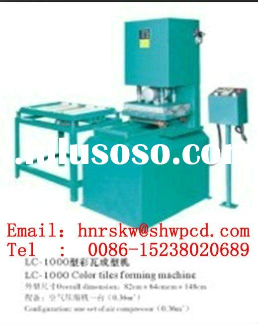 JX-multi-functional floor and roof cement tile making machine (hydraulic)