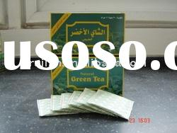 Jasmine tea :Store in dry and cool place,packing in 2g*25bags/box , 48boxes/carton