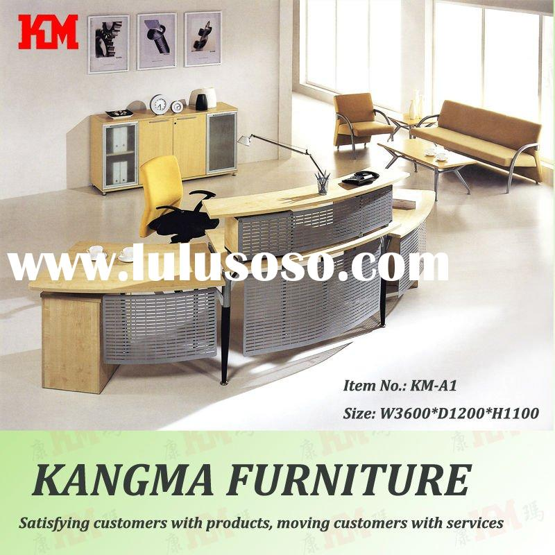 KM-A1# fashion large reception office counter table