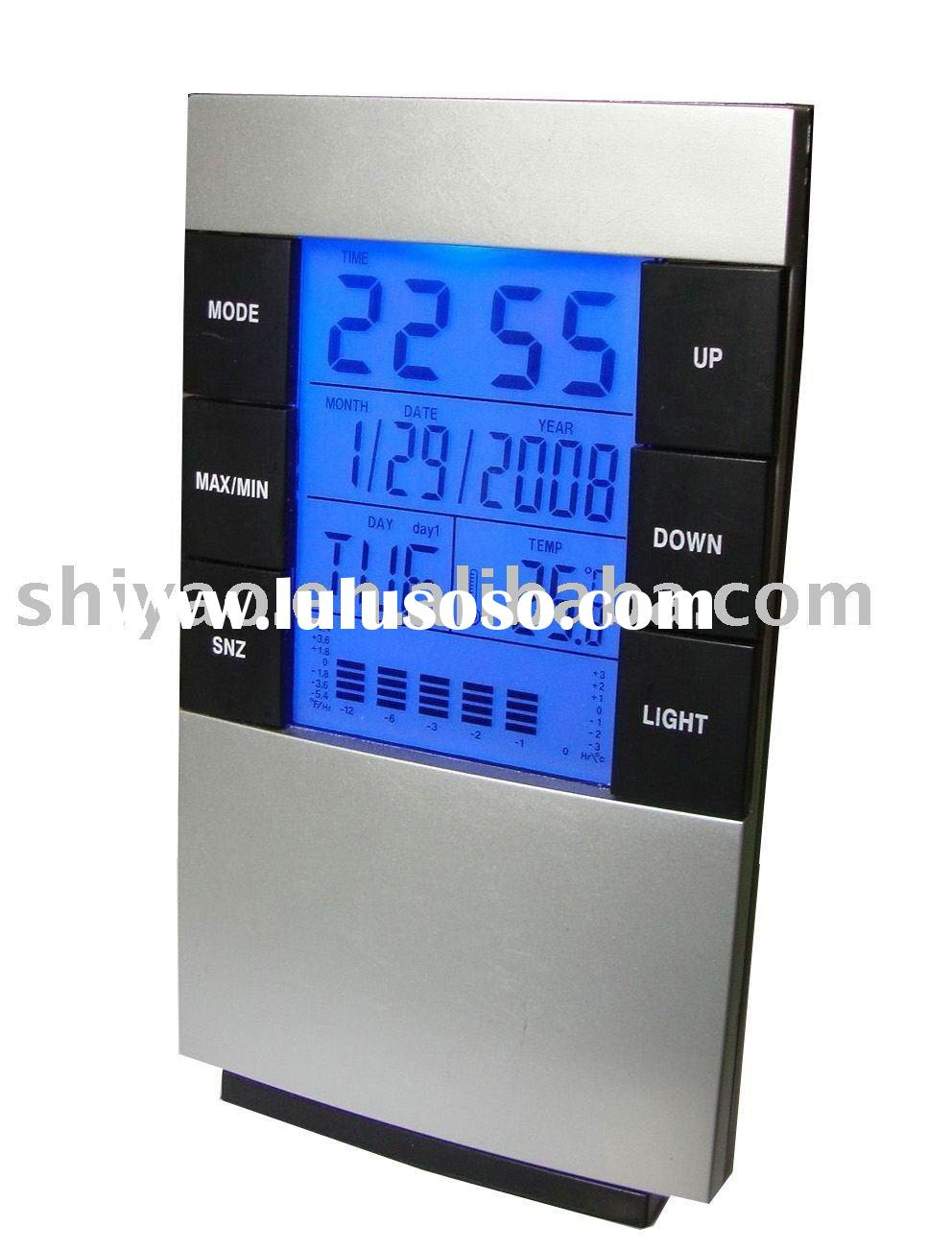 LCD Clock With Back Light