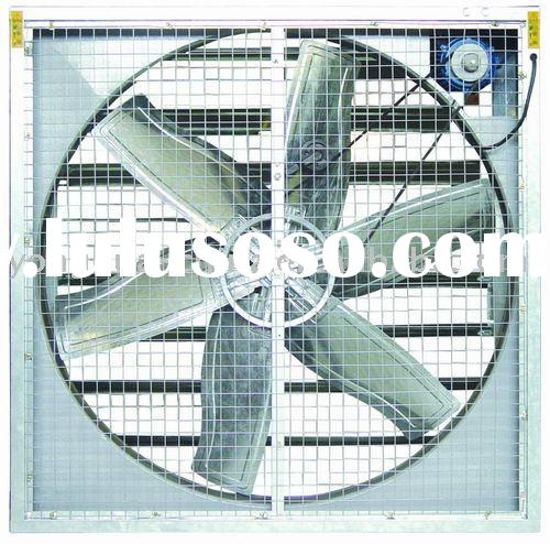 LF low noise axial blower/exhaust fan for green house/poultry