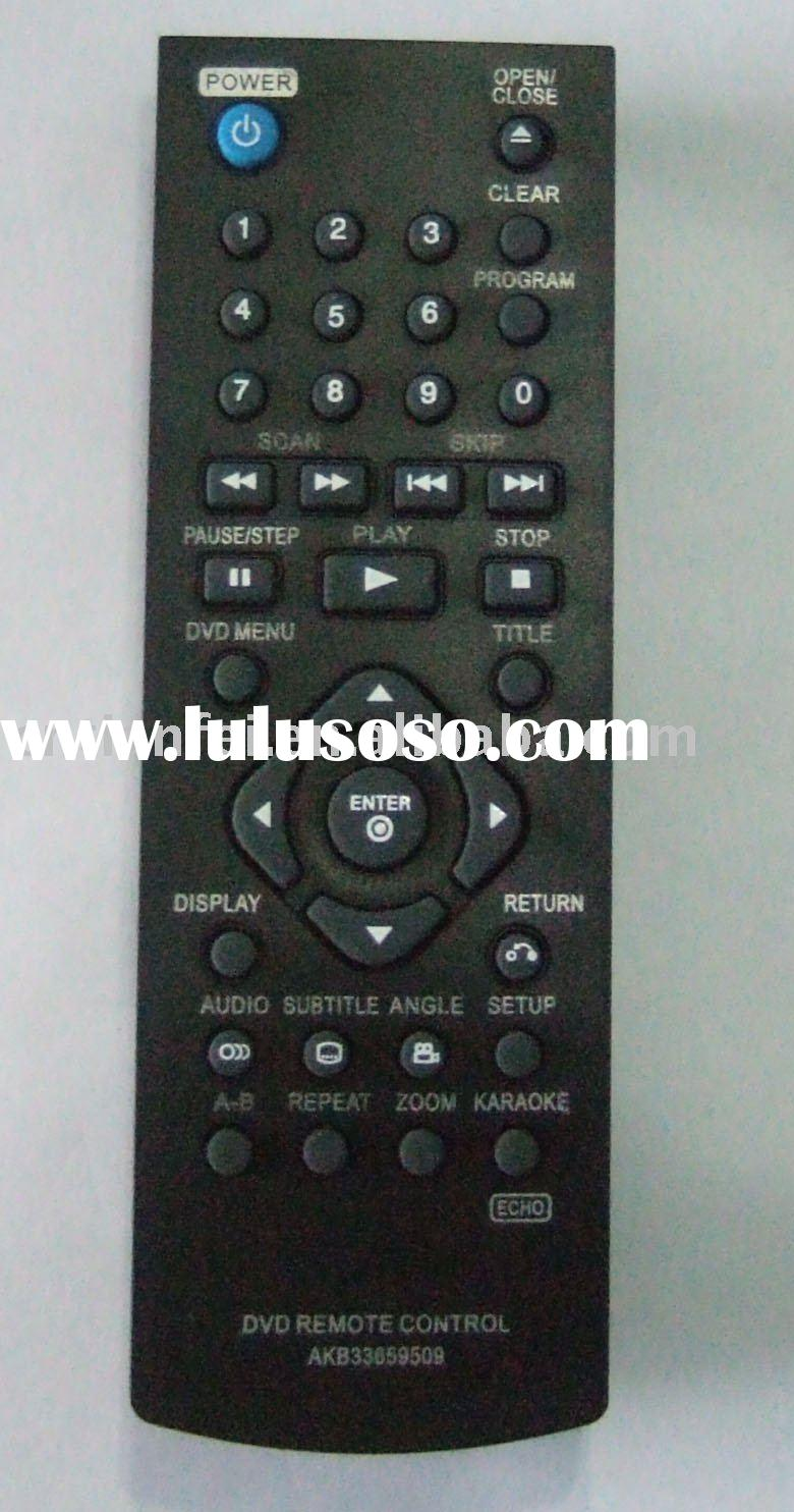 lg remote control instructions