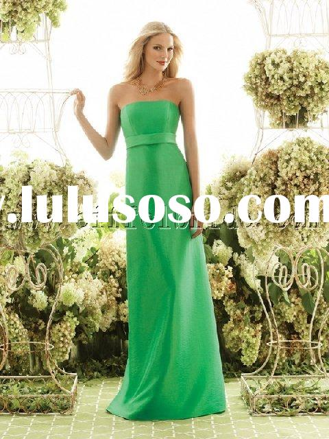 LY-20031055 light and dark green Bridesmaid Dresses\gown dress \fashion designer evening dress\ tuni