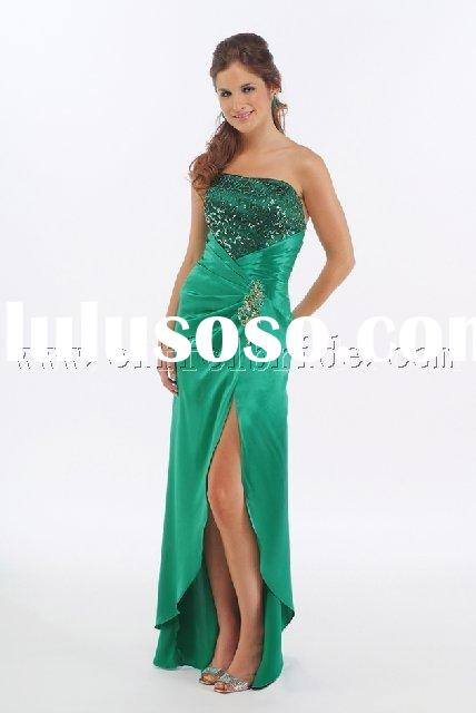 LY-5984 light dark green prom evening dresses gown dress fashiion designer evening dresses in variou
