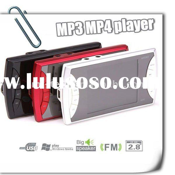 MP3 MP4 Player JXD 2.8 Inch MP4 Player FM radio 1.3 MP jxd696