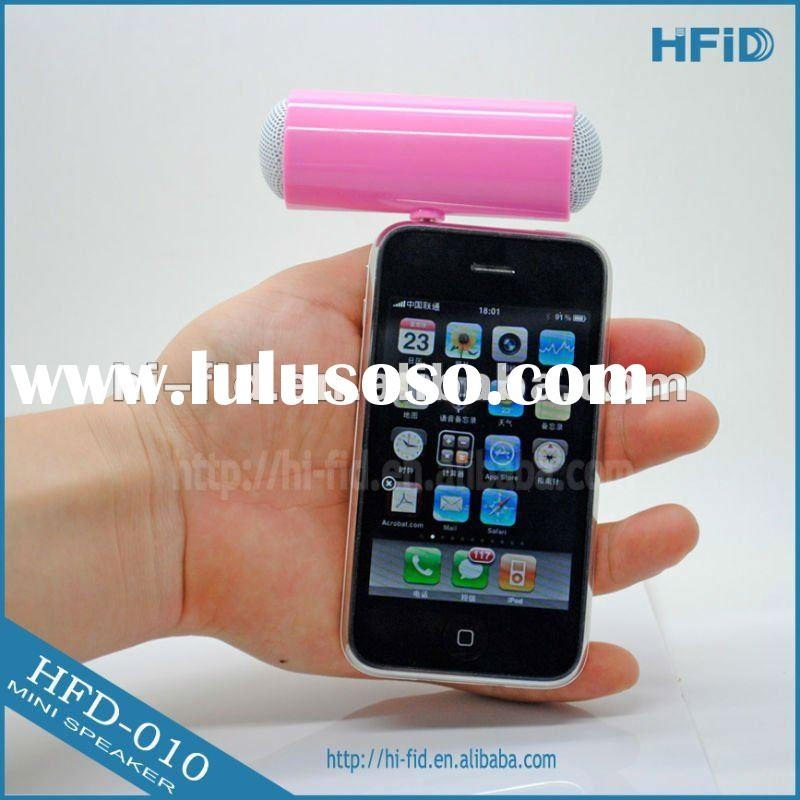 Mini Portable Speaker For iPhone/iPod/MP3 Player With Batteries Operated