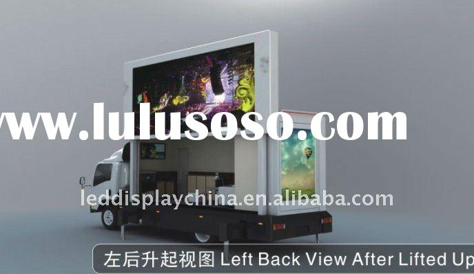Mobile LED Display Mobile Advertising Truck