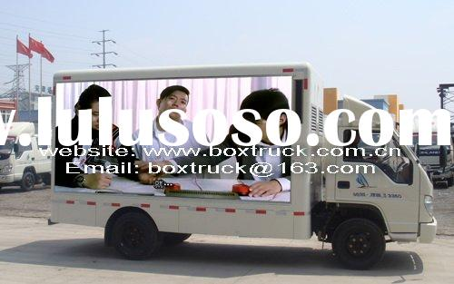 Mobile LED screen truck, Mobile advertising truck, mobile tv truck