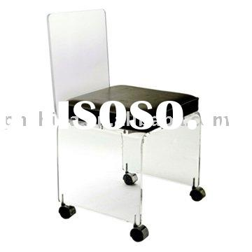 Modern Acrylic Desk Chair,Acrylic Office Chair SF-77