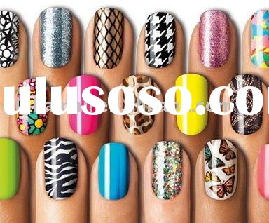 Nail Wraps &Dried Nail Polish Stickers&Nail Polish Strips