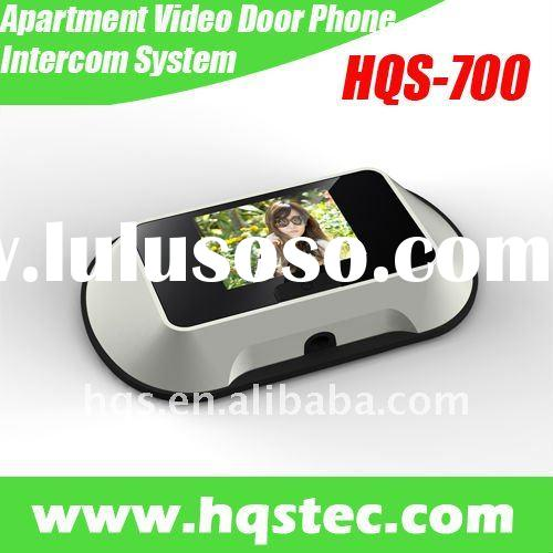 New Apartment Video Door Phone Intercom System With LCD
