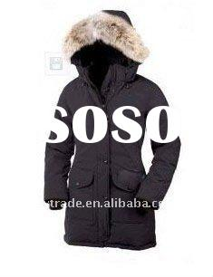 New style Women's winter down parka coat filled with goose feather, different color for chio