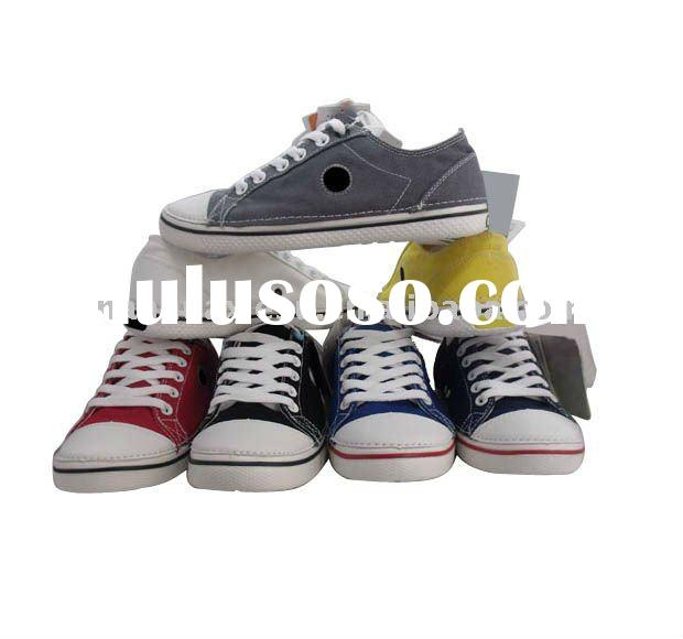New style canvas laceup shoes for 2011