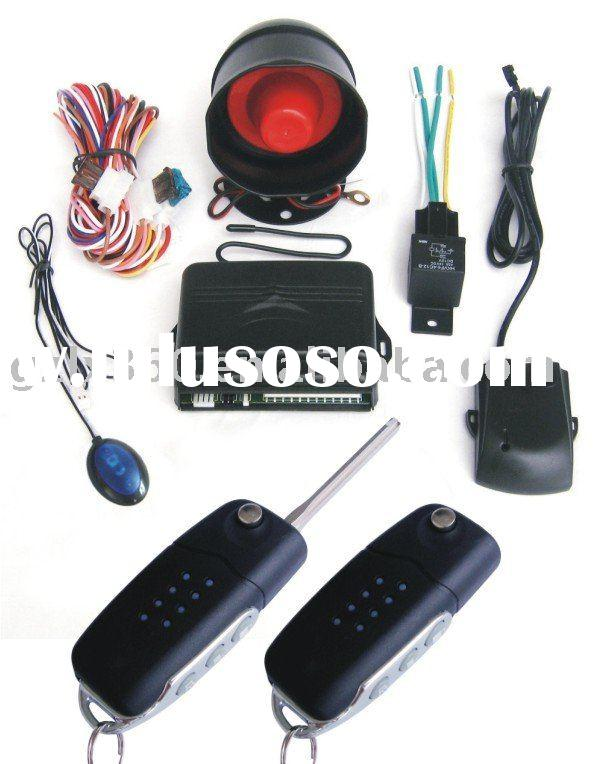One way auto security system with new remote controller