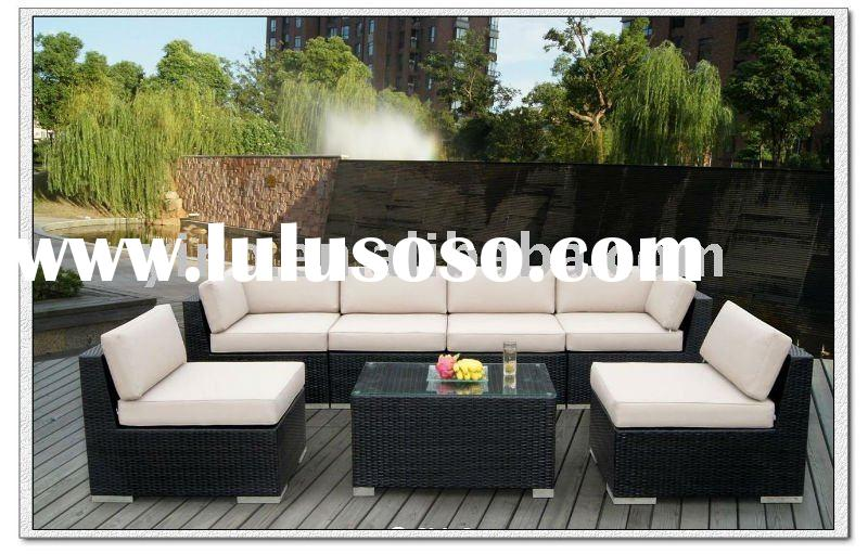 Outdoor Patio Wicker Furniture Deep Seating 7pc Set RZ1819